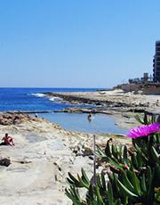 Sliema strand, Malta