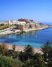St Georges Bay, Malta