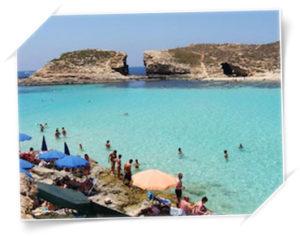 Sommar på Malta juli