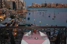 Mysig restaurang Malta