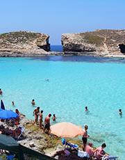 Blue Lagoon, Badplats Malta
