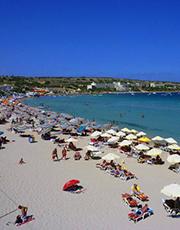 Mellieha Strand, Malta